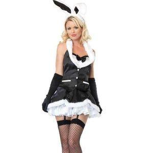 Leg Avenue 3 Pc Cottontail Cutie Halloween Costume